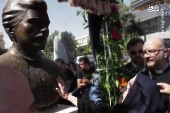 فیلم/ صحبتهای مادر شهید ارمنی با پسرش