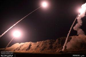 فیلم/ حمله موشکی سپاه به مقر طراحان حمله تروریستی اهواز