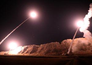 ۲ پیام حمله موشکی سپاه به تروریستها
