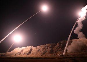 حمله موشکی سپاه به مقر سرکردگان جنایت تروریستی اهواز در شرق فرات/ هلاکت تعداد زیادی از تروریستها +عکس و فیلم