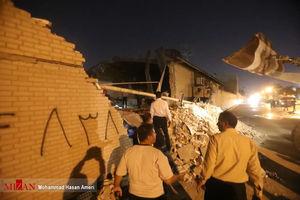 عکس/ انفجار مهیب در ورزشگاه تختی اهواز