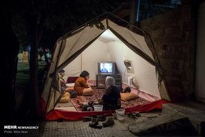 تازه آباد کرمانشاه روی خط ویبره
