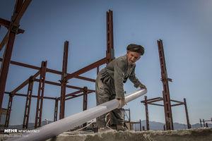 ویژگی ساختمانهای ساخته شده گروههای جهادی +عکس