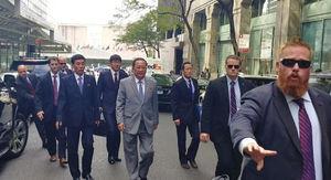 عکس/ سفر وزیر خارجه کره شمالی به آمریکا