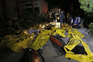 عکس/ اجساد قربانیان سونامی در اندونزی