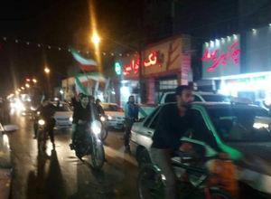 عکس/ جشن شبانه مردم اهواز پس گوشمالی داعش