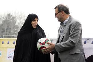 ریاست فدراسیون فوتبال پس از بازنشستگی تاج به یک زن میرسد؟!