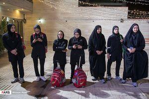 عکس/ بدرقه کاروان پارا المپیک به مسابقات آسیایی