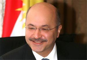 اولین اظهارات رئیسجمهور جدید عراق