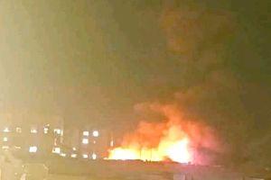 آتش سوزی در جمعه بازار یاسوج مهار شد