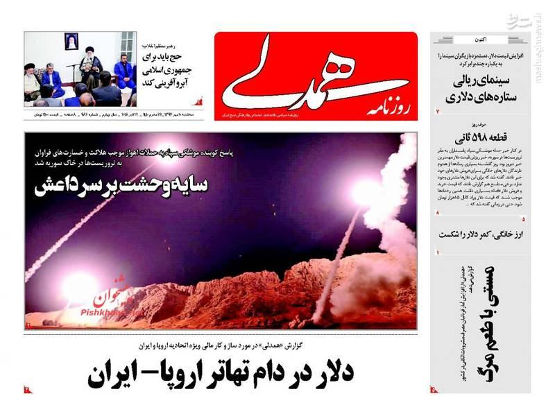 همدلی: دلار در دام تهاتر اروپا-ایران