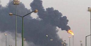 انفجار شدید و آتشسوزی گسترده در شهر ساحلی «ینبع» عربستان +فیلم