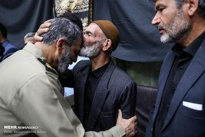 عکس/ مراسم بزرگداشت شهدای حادثه تروریستی اهواز