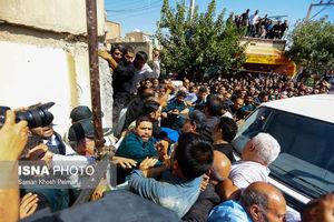 عکس/ بازسازی صحنه قتل دو طلافروش در اصفهان