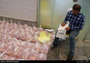 توزیع گوشت اهدایی حرم رضوی در مناطق محروم