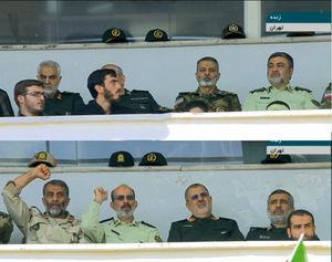 عکس/ مقامات نظامی در رزمایش بزرگ بسیجیان