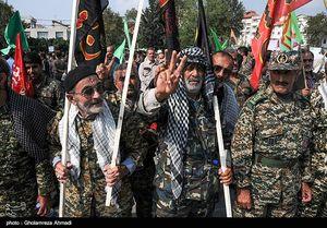 عکس/ اجتماع اقتدار عاشورایی بسیجیان در ساری