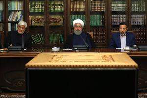 عکس/ دیدار روحانی با اصلاح طلبان