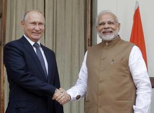 عکس/ سفر پوتین به هند