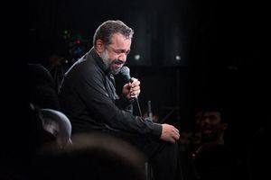 فیلم/ مداحی حاج محمود کریمی در محضر رهبر انقلاب