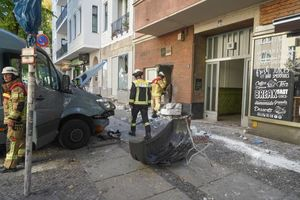 عکس/ حمله با خودرو به عابران در برلین