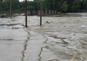 فیلم/ باران شدید و آبگرفتگی در مازندران