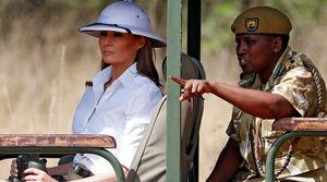 عکس/ سفر جنجالی ملانیا ترامپ