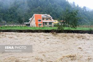 عکس/ طغیان رودخانههای تالش