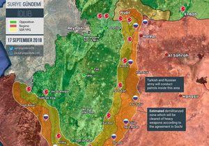 تشدید درگیری بین معارضان سوری در ادلب