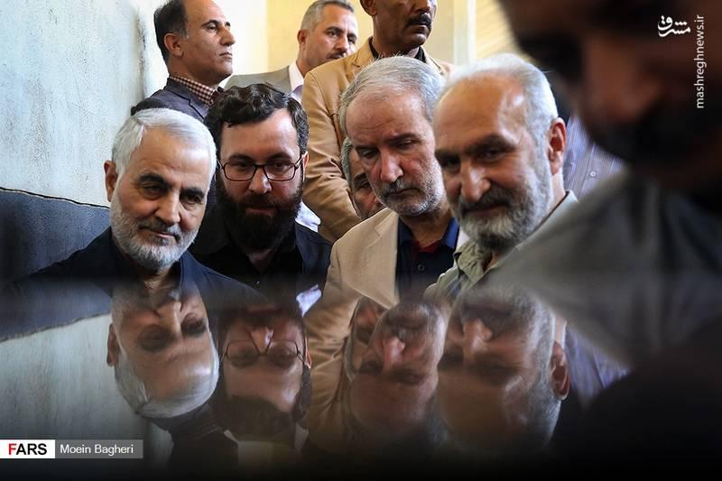 2358362 - حضور حاج قاسم در پشت صحنه «۲۳ نفر»