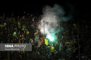 عکس/ آتش بازی در مسجدسلیمان!