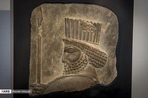 رونمایی از سردیس 2500 ساله سرباز هخامنشی