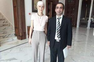 عکس/ همسر بشار اسد بعد از شروع شیمی درمانی