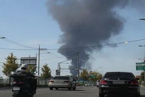 انفجار یک مخزن با ۷۷ میلیون لیتر بنزین در کرهجنوبی