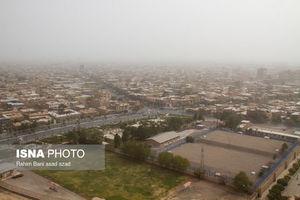 عکس/ گرد و غبار در آسمان کرمان