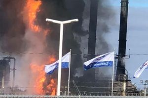 انفجار در پالایشگاه «سنت جان»