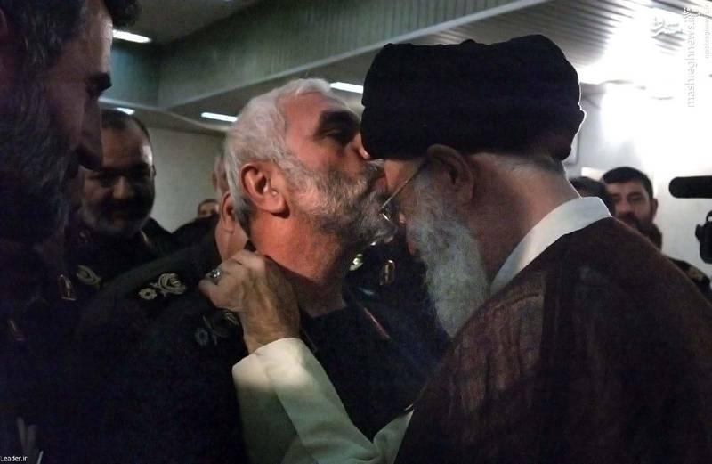 دیدار سردار حسین همدانی با رهبر انقلاب