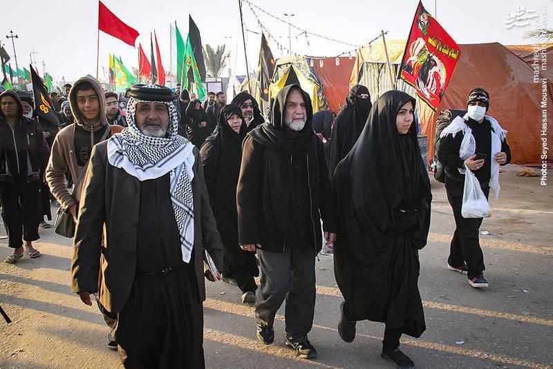 سردار حسین همدانی در پیاده روی اربعین حسینی