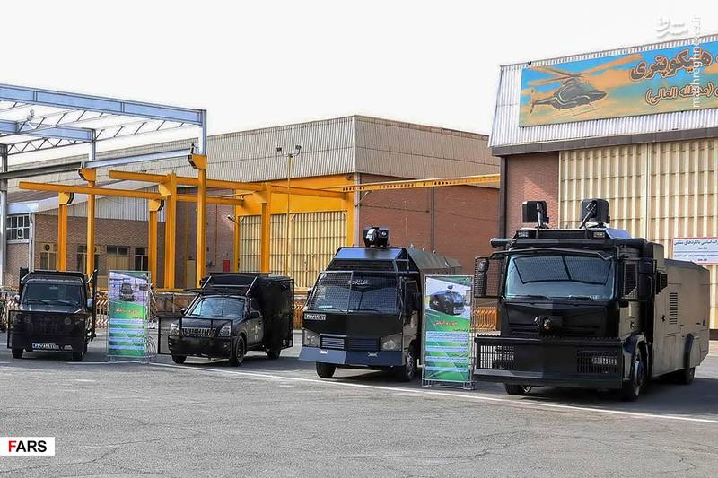 تحویل انواع پهپاد و تجهیزات نظامی به ناجا