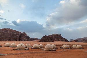 عکس/ سفر به مریخ برای گردشگران اردن