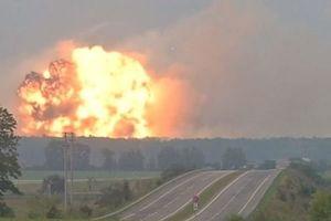 تخلیه ۱۰ هزار نفر در پی انفجار انبار مهمات در اوکراین