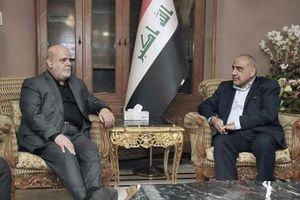 عادل عبدالمهدی و ایرج مسجدی