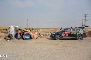 برپایی مواکب حسینی در مرز چذابه
