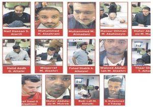 عکس/ متهمین پرونده ناپدیدشدن روزنامهنگار عربستانی