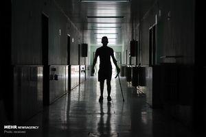 عکس/ سربازان آسیب دیده از جنگ سوریه