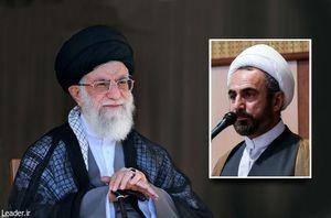 رهبر انقلاب و حجةالاسلام الله نور کریمی تبار