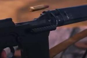 فیلم/ اسلوموشن دیدنی از شلیک اسلحه!