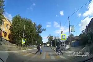 فیلم/ تصادف با کودک در مقابل چشم مادرش!