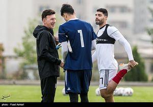 آقاجانیان: نمیتوانیم با تیمهای اروپایی بازی کنیم