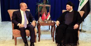 دیدار وزیر خارجه ترکیه با سید عمار حکیم